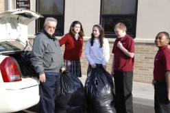 John Paul II students clothe the needy