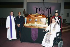 St. John Neumann relics venerated at parish mission