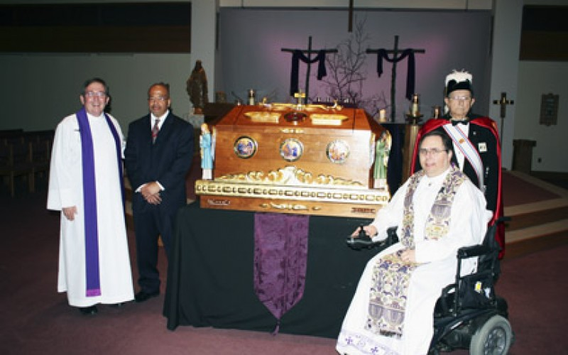 St. John Neumann relics venerated at parish mission