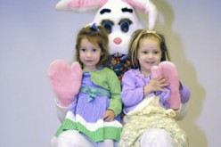 Easter Bunny at Holy Eucharist Parish
