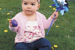 Local woman wins 'Pinwheels for Prevention' photo contest