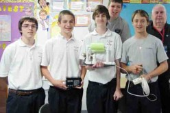 Students construct remote operated sub for class