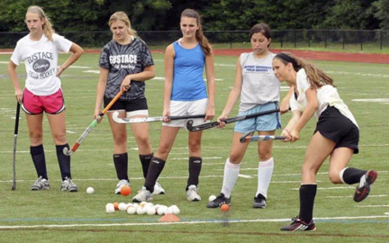 Bishop Eustace field hockey camp