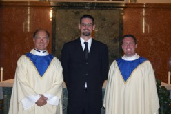 Welcoming new seminarians