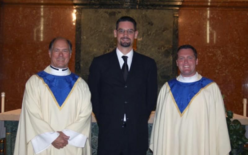 Welcoming new seminarians