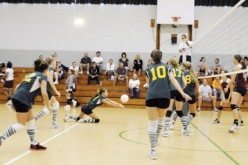 Girls' high school volleyball tournament