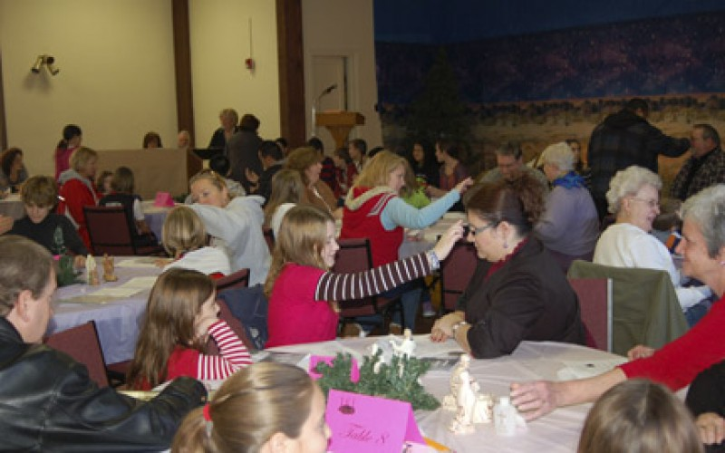 Multi-generational blessing for Advent