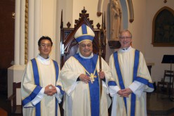Bishop Galante ordains transitional deacons