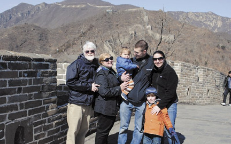 Plan some family traveling, and bonding, in 2012