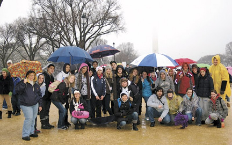 Life miles: riding the bus, walking in the rain