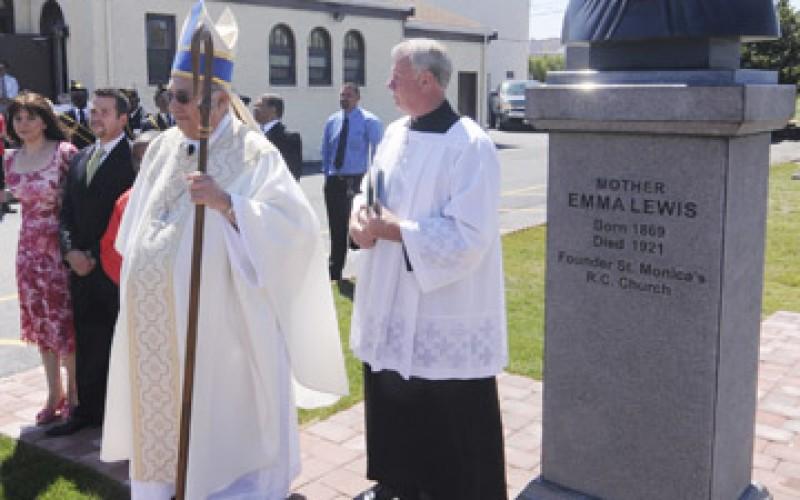 Full of Grace – The founder of St. Monica Church