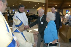 Bishop celebrates Mass for long-married couples