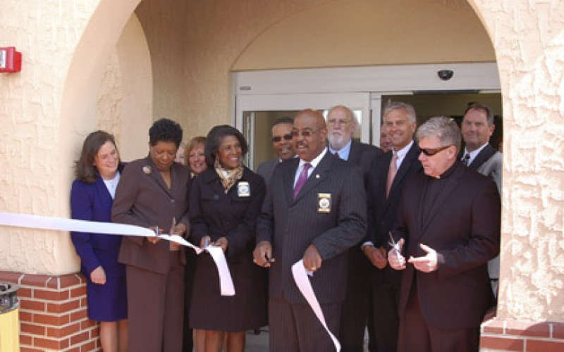 Dedication ceremony for the Village at St. Peter's
