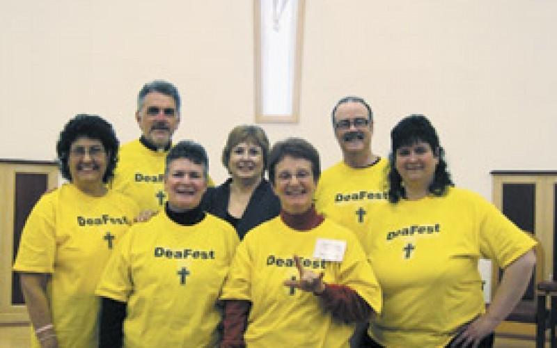 Celebrating faith in sign language at Catholic DeaFest
