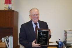 Deacon Leo McBlain receives national honor
