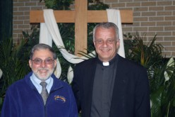 Retiree does a lot of 'part time stuff' at parish