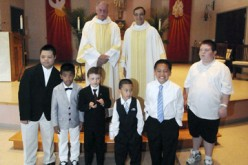 'Katie's Kids' receive first Communion