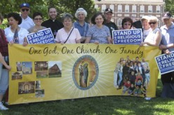 Catholics around the country rally for religious freedom