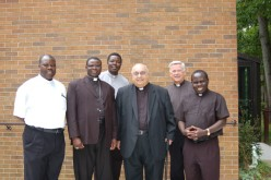 Visit from Ugandan bishop