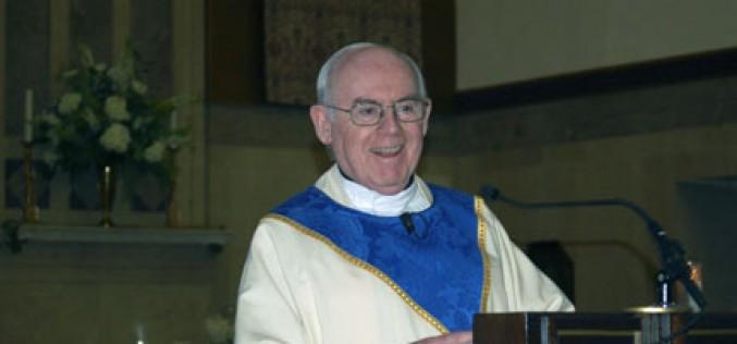 Mass, dinner mark retirement of longtime pastor