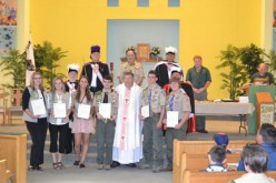 Diocese of Camden Scouting Youth Ministry Awards
