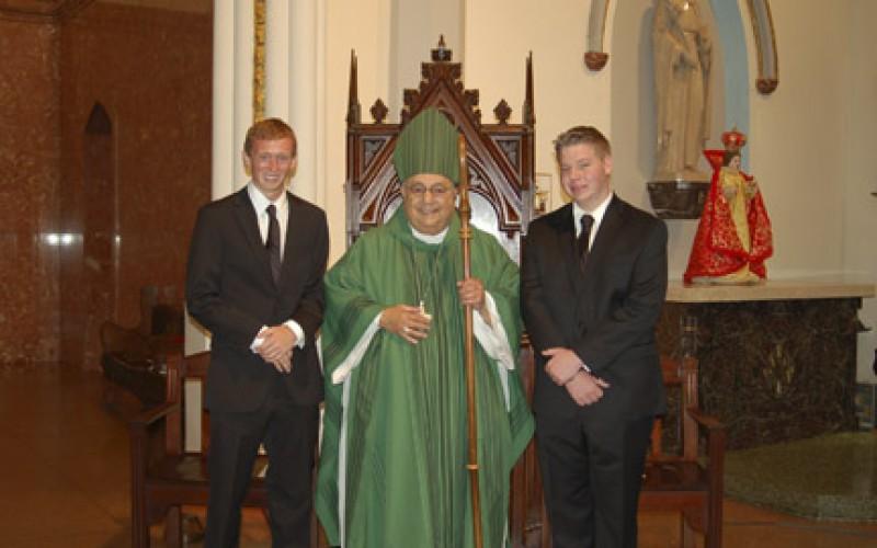 New Seminarians