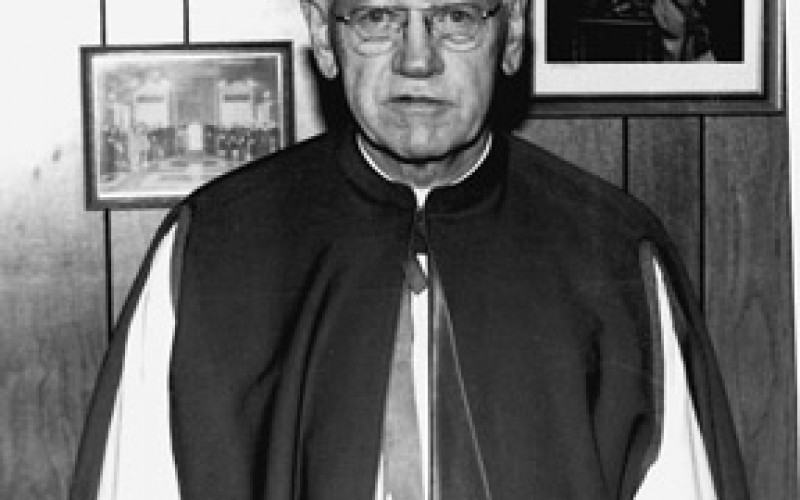 Full of Grace – Msgr. Mozier, administrator and pastor