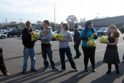 Rowan students join relief effort