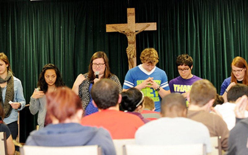 Young people lead retreat for their peers in Williamstown