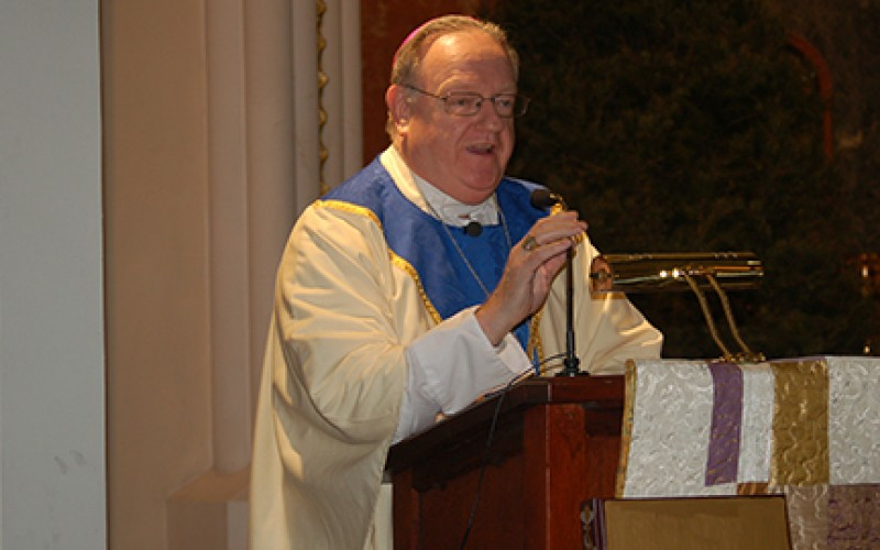 Bishop Dennis Sullivan, next bishop of Camden
