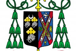 The Coat of Arms of The Most Reverend Dennis J. Sullivan, D.D. Bishop of Camden