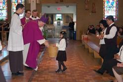 El Obispo visita Nuestra Señora de Guadalupe