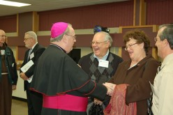 Meeting Bishop Sullivan