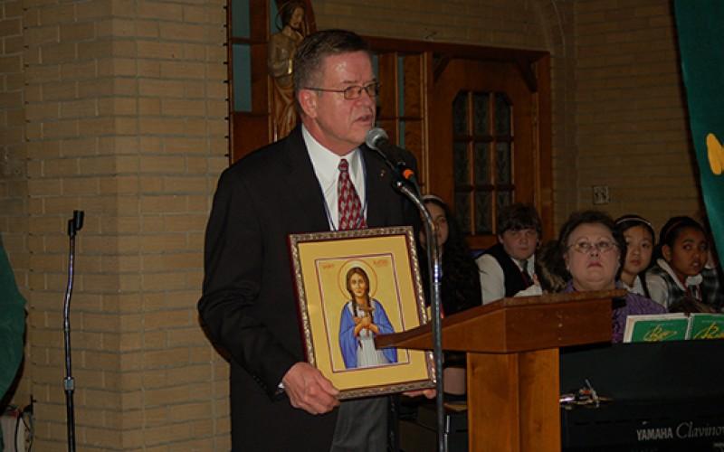 Donald Garecht, Principal of the Year