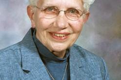 Sister Marita Francis Barrington dies