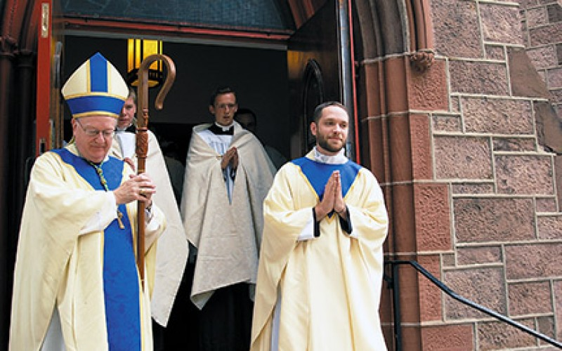 Father Kevin Mohan ordained