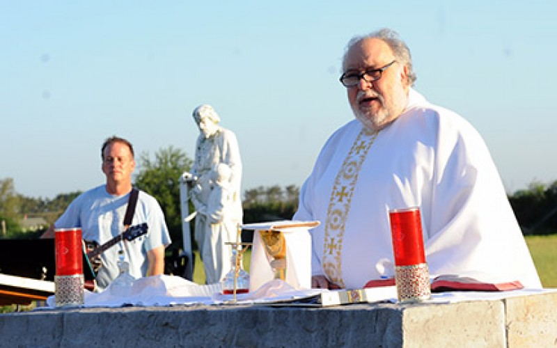 Blessing of Farms and Mass