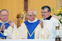 A celebration for the 100th anniversary of the dedication of St. Paul Church