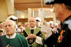 Cardinal O'Brien visits the shore