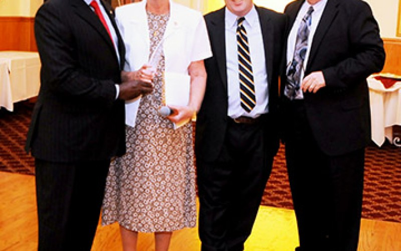 Church leaders honored by Racial Justice Commission