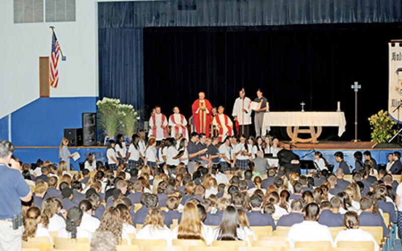 Opening Liturgy at Holy Spirit
