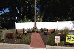 Scout creates parish memorial garden