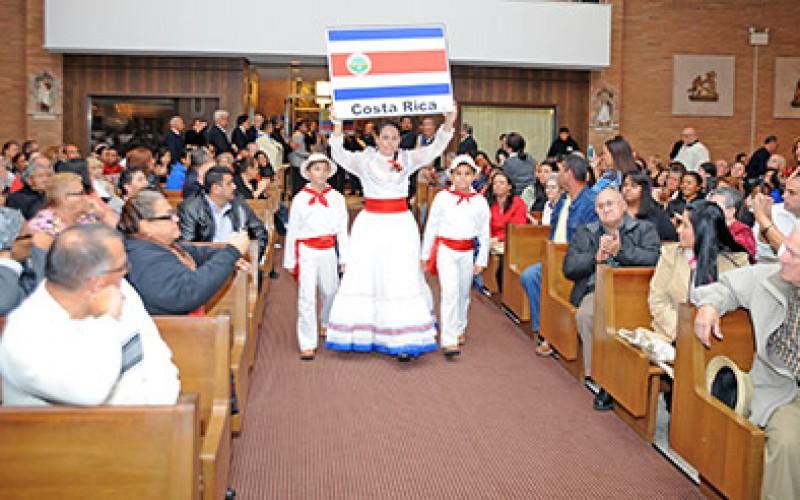 Comunidades Hispanas celebran el Año de la Fe