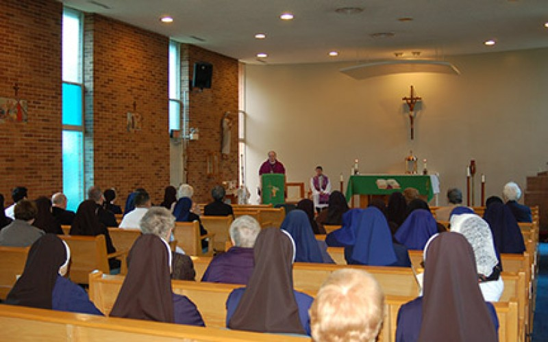 Collection helps aging sisters, brothers and priests