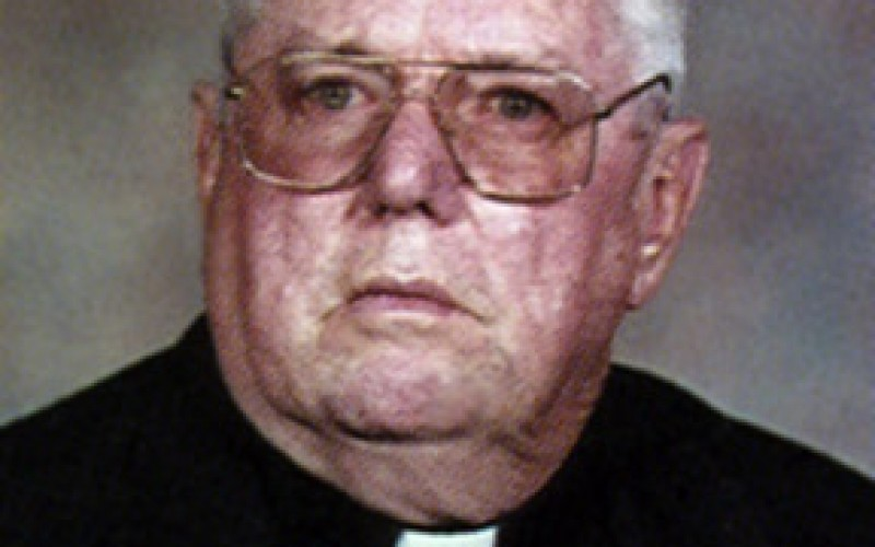 Father William F. Collins, retired pastor, dies