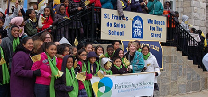 Recognition for a local Catholic school advocate