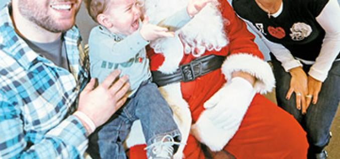 'Not jolly' about Santa