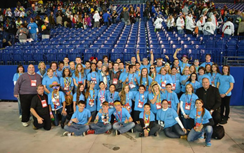 Young people energized at national gathering