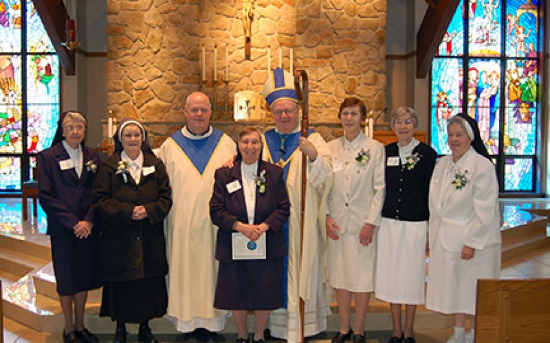 A Message from the Bishop – Congratulations Sisters, Brother and Father