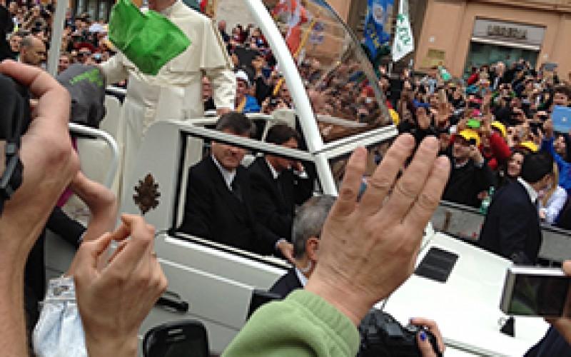 Camden pilgrims attend canonization in Rome